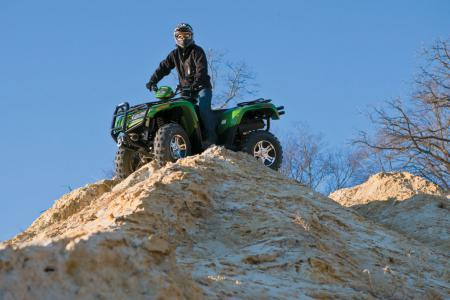 Make no mistake; the Thundercat is an ATV for experienced riders. Newbies need not apply.