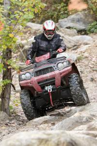 The Brute Force is more than enough ATV to challenge just about any rider.