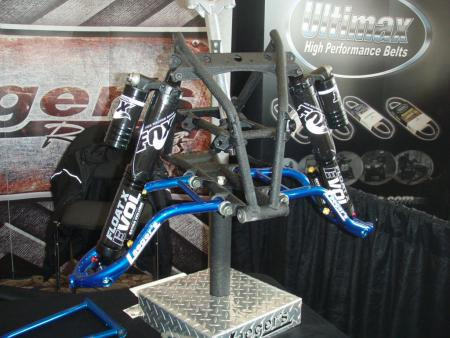 Cross-country racers will be interested in Laeger's High Roller front end.