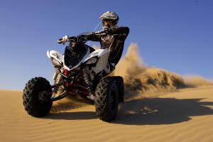 When it comes to speed, the Raptor 700R is tough to beat.