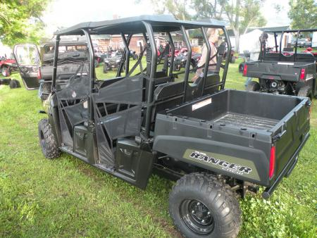 Polaris' mid-size Ranger family adds another new member with the multi-passenger Ranger Crew 500.
