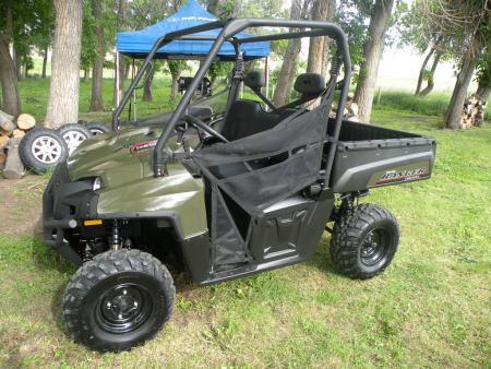 Polaris enters the diesel UTV market with the mid-size 2011 Ranger Diesel.