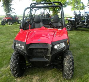 The entire 2011 Ranger RZR lineup gets a revised front end and a new fuel tank that helps improve range by 30 percent.