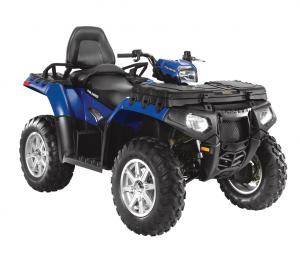 Sportsman XP Touring models now feature a removable passenger seat and an optional storage box from Pure Polaris.