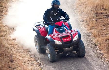 It might not be able to keep up with the 850-950cc crowd, but the Rincon is a reliable, easy-to-ride ATV that offers plenty of fun.