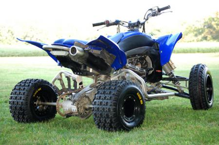 Now that traction is taken care of, it's time to move forward with the rest of our YFZ450R MX Project.