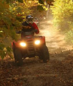 Wide and varied trails for high-speed fun were also in abundance.