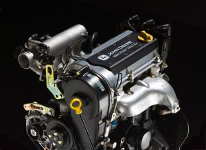 A three-cylinder engine is very unique in the recreational off-road market.