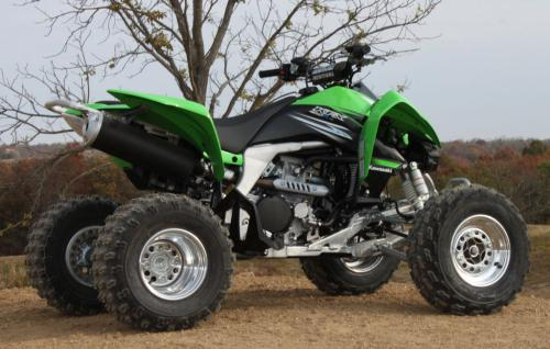 2011 Kawasaki KFX450R Review