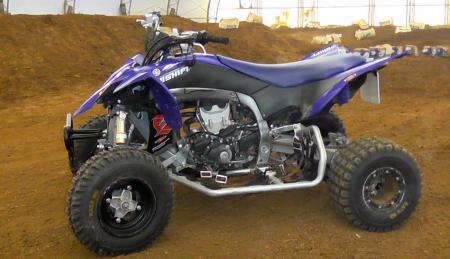 Yamaha YFZ450R MX Project