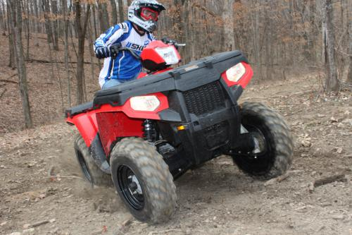 2011 Polaris Sportsman 500 H O  Review - ATV com