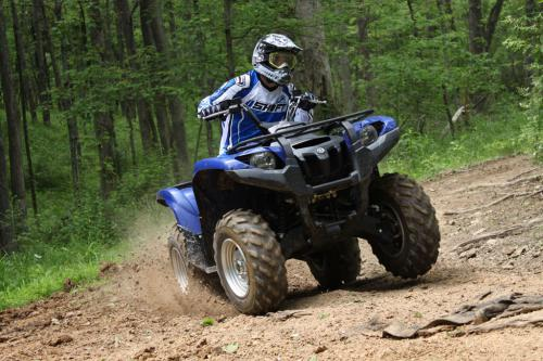 2011 Yamaha Grizzly 700 EPS Action 13