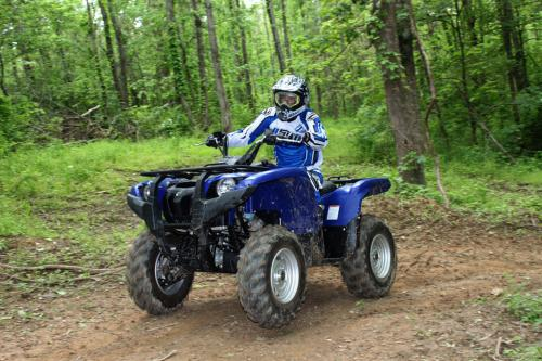 2011 Yamaha Grizzly 700 EPS Action 17