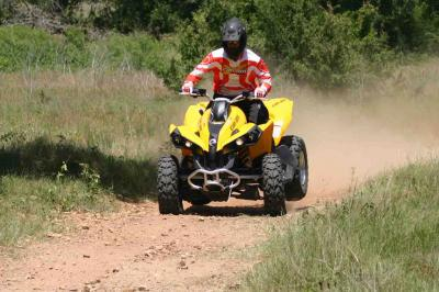 The Renegade 800R is all about power and speed, while combining sport and utility.