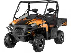 2012 Polaris Ranger XP 800 Black-Orange Madness