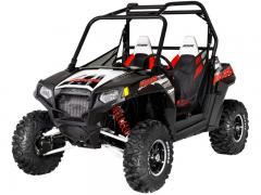 2012 Polaris RZR S 800 Black-White-Red