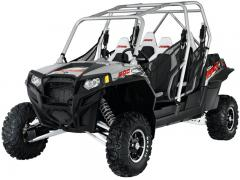 2012 Polaris RZR XP 4 900 Liquid Silver