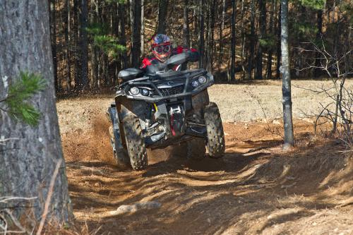 2012 Can-Am Outlander 1000 XT Action Fast