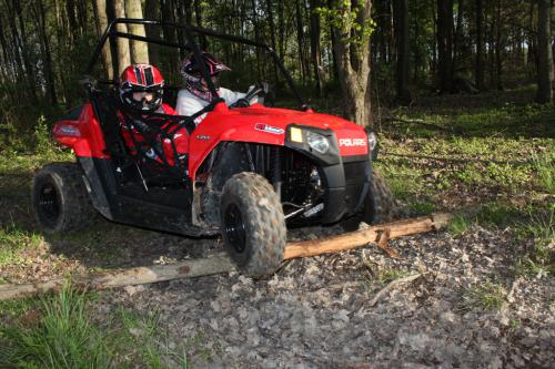 2012 Polaris Ranger RZR 170 Log Crossing