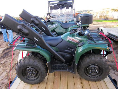Yamaha ATVs Prepped for Turkey Hunt