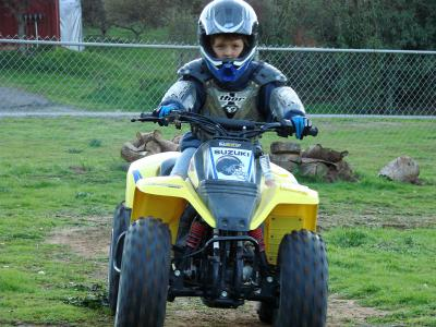 Beyond learning how to ride safely, kids need learn how to take care of the trails and riding areas so they will be there for generations to come.