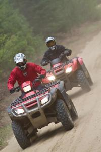 Honda ATVs on Ontario Trails