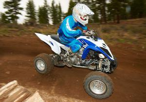 2013 Yamaha Raptor 700R Action Right