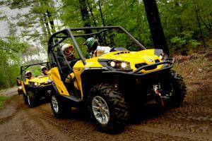 Mike Holmes ATV Ride Can-Am Commander