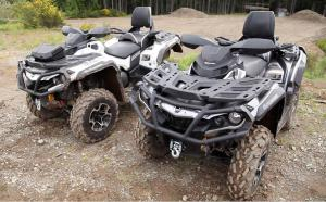 2013 Can-Am Outlander MAX 1000 Limited Overhead