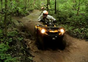 Antem Mills Forest Trail ATV