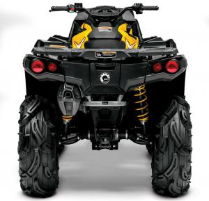 2013 Can-Am Outlander 650 X mr Rear