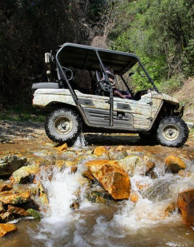 Chappie Shasta OHV Water Crossing