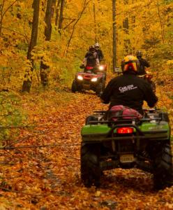 Fall Colours ATV Riding in Mattawa