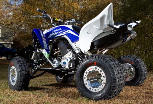 2013 Yamaha Raptor 700 Project Left Rear