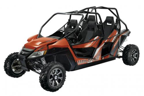 2013 Arctic Cat Wildcat 4 Orange