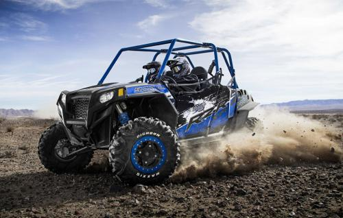 2013 Polaris RZR XP 900 H.O. Jagged X Action Left