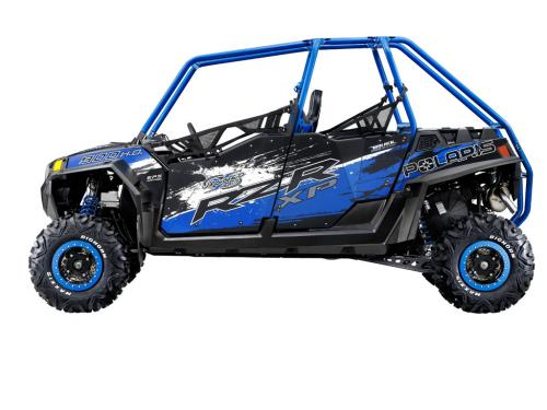 2013 Polaris RZR XP 900 H.O. Jagged X Profile Left