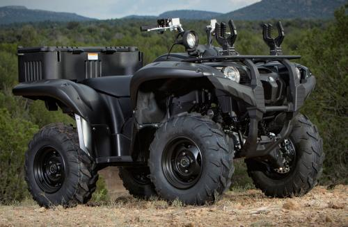 2013 Yamaha Grizzly 700 Se Tactical Black Review Atvcom