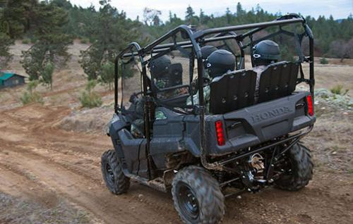 2014 Honda Pioneer 700 Action Rear