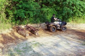 The Sportsman never lost traction despite all the loose, sandy and muddy corners we threw at it.