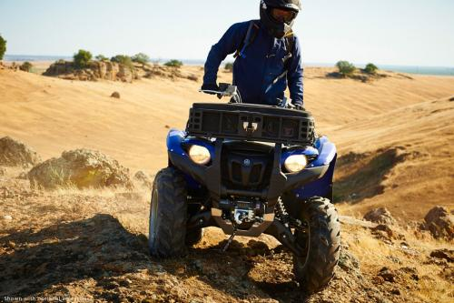 2014 Yamaha Grizzly 700 Action Front