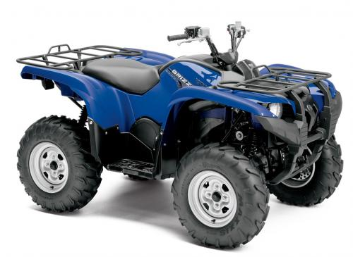 2014 Yamaha Grizzly 700 Front Right