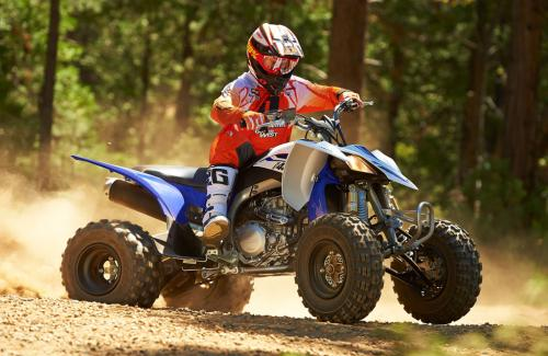 2014 Yamaha YFZ450R Action Right