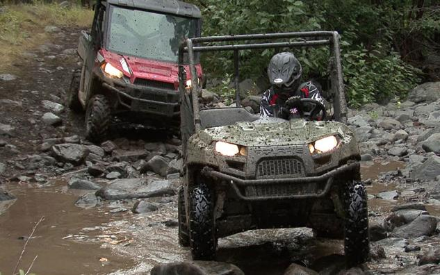 2013 Polaris Ranger 800 Mid-Size Action with Ranger XP 900