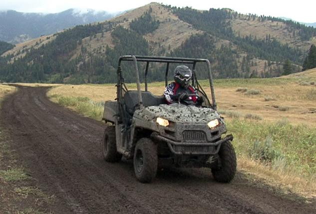 2013 Polaris Ranger 800 Mid-Size Action Beauty