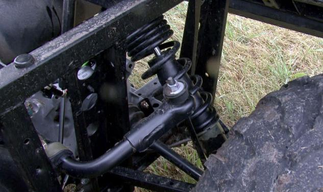 2013 Polaris Ranger 800 Mid-Size Rear Suspension
