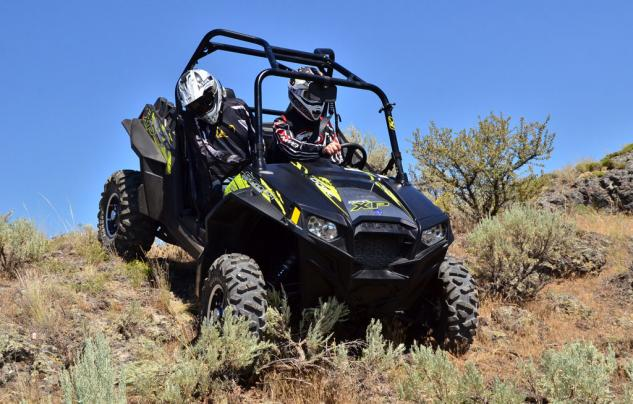 2013 Polaris RZR XP 900 EPS Action Rocky Downhill