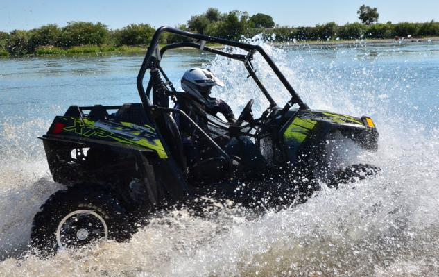 2013 Polaris RZR XP 900 EPS Action Water