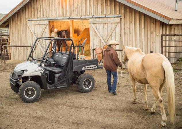 2014 Polaris Ranger 570 Action