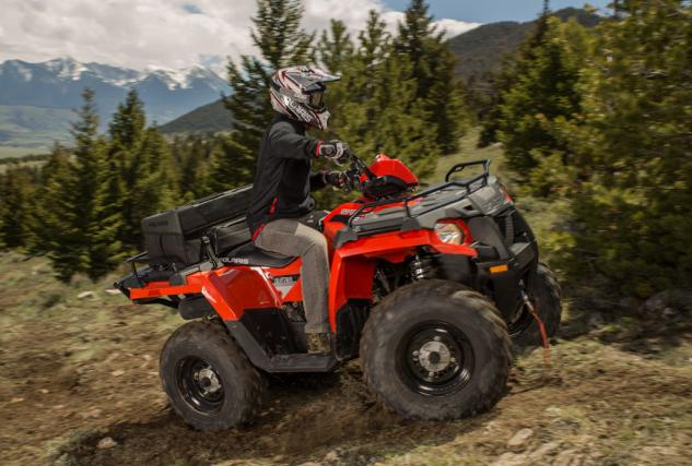 2014 Polaris Sportsman 570 Action Red